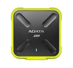 Adata SSD External SD700 512G USB3.1 Durable Żółty