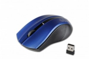 Rebeltec Bezprzewodowa mysz optyczna, GALAXY Blue/silver