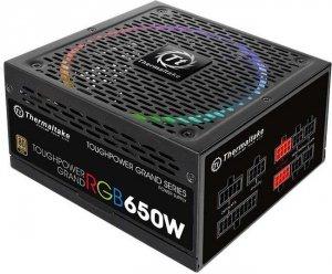 Thermaltake Toughpower Grand RGB 650W Mod. (80+ Gold, 4xPEG, 140mm)