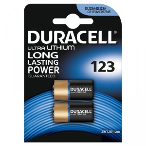 Duracell Baterie CR123A 2szt blister