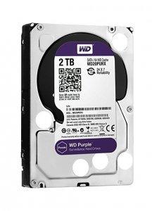 Western Digital HDD Purple 2TB 3,5'' 64MB  SATAIII/5400rpm