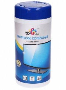 TB Clean Clean Chusteczki nasączone 100 sztuk tuba