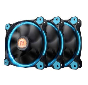 Thermaltake Riing 12 LED Blue 3 Pack (3x120mm, LNC, 1500 RPM) Retail/Box