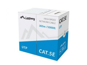 LANBERG Kabel UTP Kat.5E CCA 305m linka