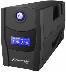 PowerWalker UPS Line-Interactive 600VA STL FR 2x PL 230V, USB, RJ11/45      In/Out