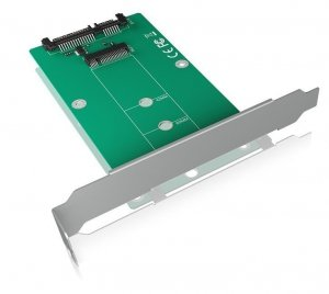 IcyBox IB-CVB516 konwerter M.2 SATA-SATA