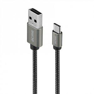 ACME Europe Kabel USB Typ-C(M) - USB Typ-A(M) CB2041G 1m gwiaździsta szarość