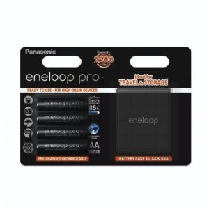 Panasonic Akumulatory Eneloop AA 4 szt. + pudełko