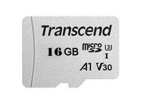 Transcend Karta pamięci microSDHC 300S 16G Class10 V30 95/10 MB/s