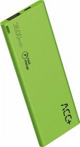 ACC+ Power Bank ACC+ THIN 3600 mAh zielony