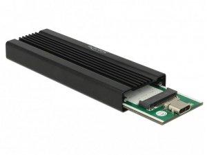 Delock Kieszeń zewnętrzna SSD M.2 NVME USB C 3.1 Gen 2 czarna