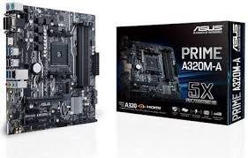 Asus Płyta główna PRIME A320M-A AM4 4DDR4 USB3/HDMI/DVI/D-SUB mATX