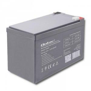Qoltec Akumulator AGM 12V | 12Ah