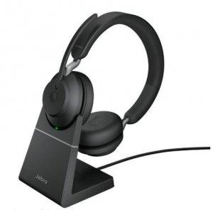 Jabra Słuchawki Evolve2 65 Stand Link380a MS Stereo Black