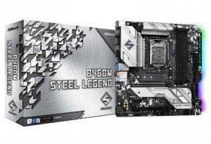 ASRock Płyta główna B460M Steel Legend s1200 4DDR4 HDMI/DP M.2 ATX