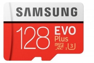 Samsung Karta pamięci MB-MC128HA/EU 128GB EVO+ mSD +Adapter