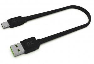Green Cell Kabel GCmatte USB-C Płaski 25 cm