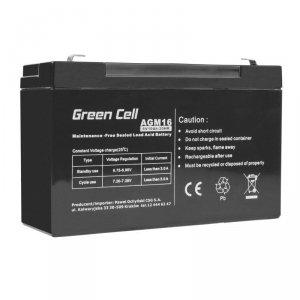 Green Cell Akumulator AGM 6V 10Ah
