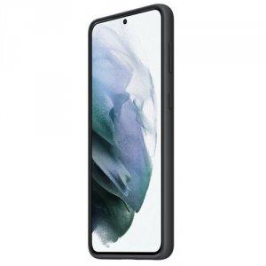Samsung Etui Silicone Cover Black do S21+