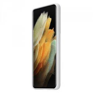 Samsung Etui Silicone Cover Light Gray do S21Ultra