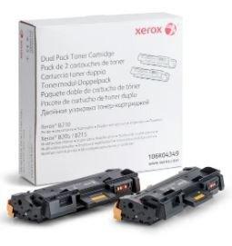 Xerox Toner dwupak bk 2x3k B210/B205/B215 106R04349