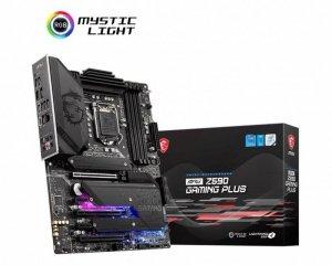 MSI Płyta główna MPG Z590 GAMING PLUS s1200 4DDR4 HDMI/DP M.2 ATX