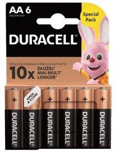 Duracell Bateria Basic AA/LR6 blister 6 sztuk