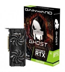 Gainward Karta graficzna RTX 2060SUPER Ghost 8GB GDDR6 256BIT HDMI/DP/DVI