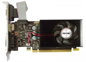 AFOX Karta graficzna - Geforce GT730 2GB DDR3 128Bit DVI HDMI VGA LP Single Fan L8