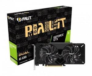 Palit Karta graficzna GTX 1660Ti DUAL 6GB GDDR6 192bit HDMI/DP/DVI
