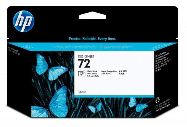 HP Inc. Tusz Nr 72 Czarny Fotograficzny 130ml C9370A
