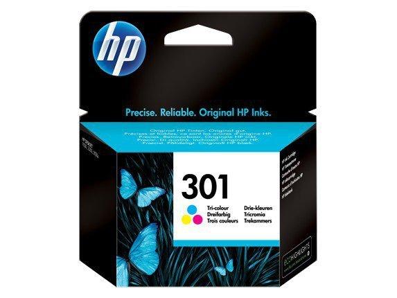 HP Inc. Tusz nr 301 Kolor CH562EE
