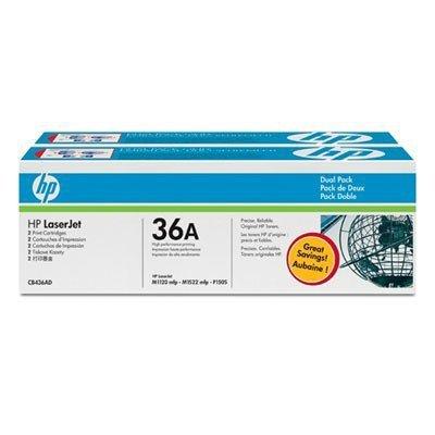 HP Inc. Toner LJ P1505/1506 36A Czarny 2k Dwupak CB436AD