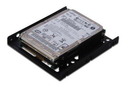 "Digitus Ramka montażowa/Adapter SSD/HDD 2x 2.5"" do 3.5"" (ATA, SATA, SSD) metalowa ,zestaw, czarna"