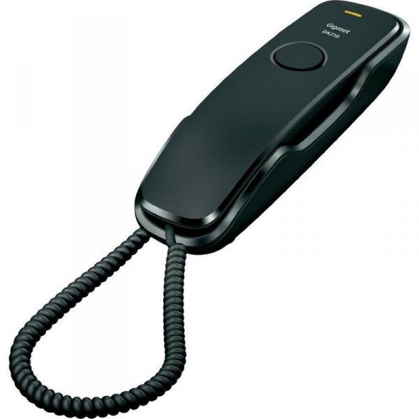 Gigaset Gigaset Telefon DA210 CZARNY przewodowy