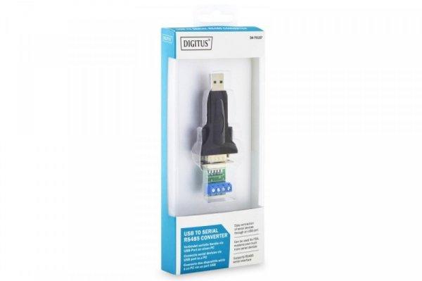 Digitus Konwerter/Adapter USB 2.0 do RS485 (DB9) z kablem USB A M/Ż dł. 80cm