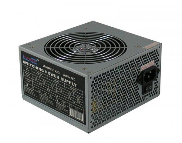 LC-POWER ZASILACZ 500W LC500H-12 V 2.2 aPFC 120mm 4 x SATA 2x PATA 1x PCIe ACTIVE PFC