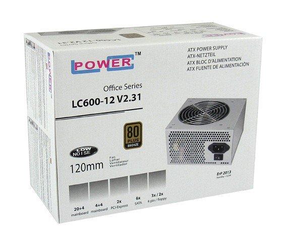 LC-POWER ZASILACZ 450W LC600-12 V2.31 80+ BRONZE