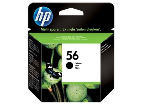 HP Inc. Tusz nr 56 Czarny C6656AE