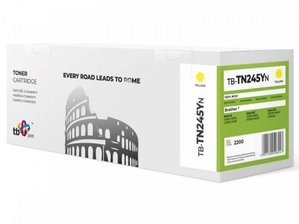 TB Print Toner do Brother TN245Y YE 100% nowy TB-TN245YN