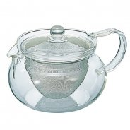 Hario Chacha Kyusu-Maru - Czajniczek do zaparzania herbaty 450ml
