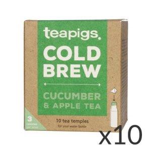 teapigs Cucumber & Apple - Cold Brew 10 piramidek - zestaw 10 sztuk