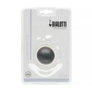 Bialetti - Uszczelka + sitko do kawiarek stalowych Bialetti 1-2tz