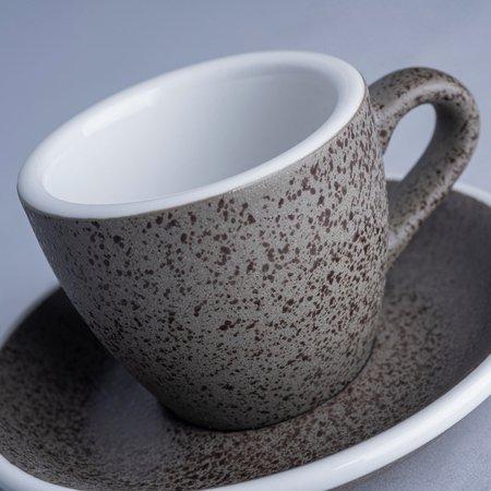 Loveramics Egg - Filiżanka i spodek Espresso 80 ml - Granite