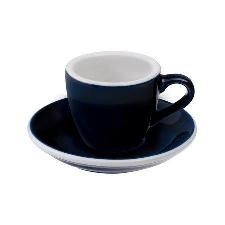 Loveramics Egg - Filiżanka i spodek Espresso 80 ml - Denim
