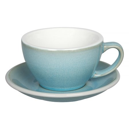 Loveramics Egg - Filiżanka i spodek Cafe Latte 300 ml - Ice Blue