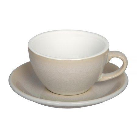 Loveramics Egg - Filiżanka i spodek Cappuccino 200 ml - Ivory