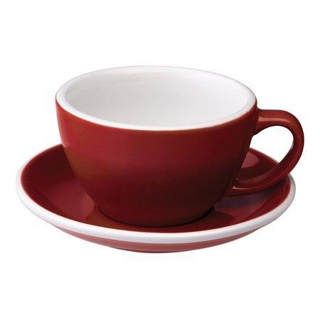 Loveramics Egg - Filiżanka i spodek Cafe Latte 300 ml - Red