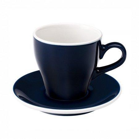 Loveramics Tulip - Filiżanka i spodek Cafe Latte 280 ml - Denim