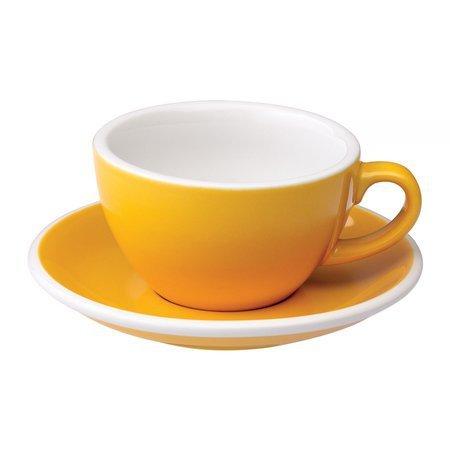 Loveramics Egg - Filiżanka i spodek Cappuccino 200 ml - Yellow